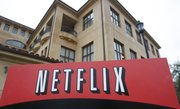 The Netflix headquarters in Los Gatos, Calif., are shown in this January file photo. Netflix has reached a multiyear agreement to stream movies from Paramount, Lionsgate and MGM online starting Sept. 1.