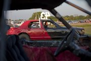 Demolition Derby, Douglas County Fair, Lawrence, KS. Friday August 6, 2010