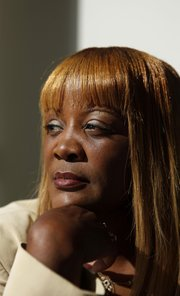Adrienne Hudson, a single mother, says she was fired from her new job as a bus driver at First Transit in Oakland, Calif., when the company found out she had been convicted seven years earlier for welfare fraud.