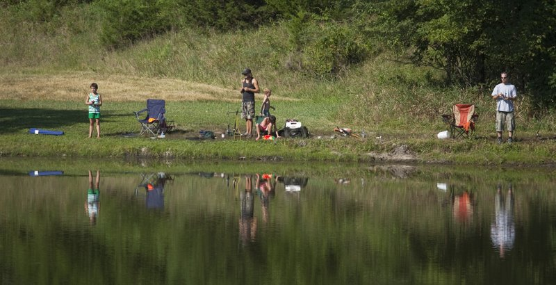 Children 39 s fishing derby set for may 5 at mary 39 s lake in for Clinton lake fishing