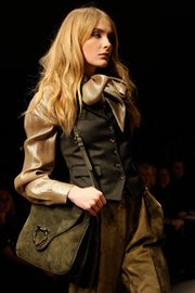 Salvatore Ferragamo clothing from the 2010 Fall-Winter collection.