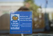 Our Local Food-Kaw River Valley is a program designed to identify local foods and get them into stores, restaurants and other local businesses. WheatFields Bakery and Cafe, 904 Vt., is a participating location.