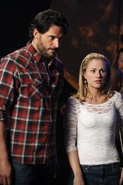"Joe Manganiello, left, and Anna Paquin are shown in a scene from ""True Blood"" in this publicity image released by HBO. Whether it be through the Internet, on demand or their DVRs, more TV viewers are putting themselves in charge of their own TV-watching schedule."