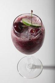 Cherry-Cucumber Cooler