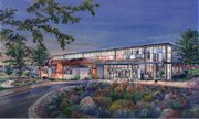 An artist's rendering of the new theater.
