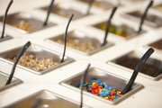 Many frozen yogurt shops have incorporated toppings bars to allow their patrons to customize their own creations.