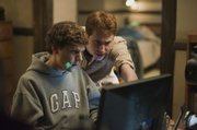 "Jesse Eisenberg, left, and Joseph Mazzello are shown in a scene from ""The Social Network."""