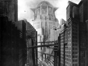 "A scene from Fritz Lang's 1927 film, ""Metropolis."""