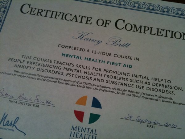 Mental Health First Aid Tags Bert Nash Community Mental Health