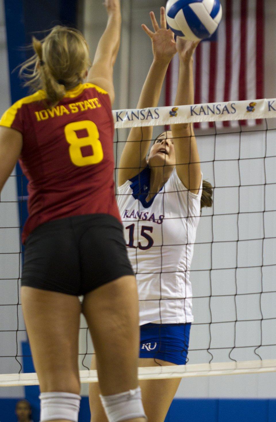KU volleyball vs. Iowa State | KUsports.com