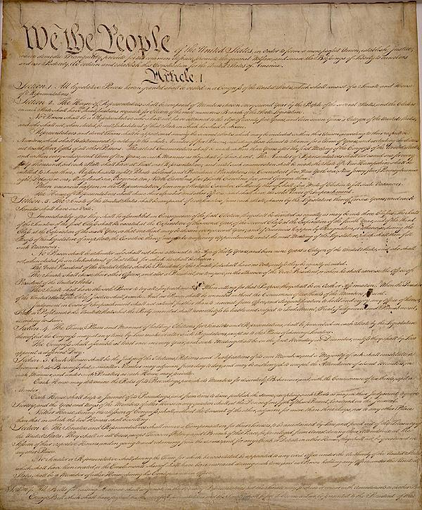 James Madison Constitution
