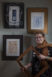 Liza MacKinnon will be one of the artist showing work at the Holiday Art Fair on Dec. 4 at the Lawrence Arts Center.
