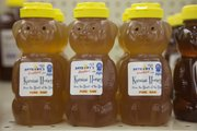 Anthony's Beehive pure raw honey is sold in the wellness section at Hy-Vee stores.