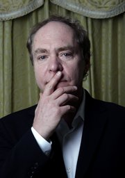 "Teller, the quiet half of the Penn and Teller magician team, poses April 13, 2007, at the Four Seasons hotel in Los Angeles. Teller has co-written and directed the off-Broadway show ""Play Dead,"" opening Nov. 11 at the Player's Theater in New York."