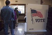 Monday was the last day for advance voting at the Douglas County Courthouse.