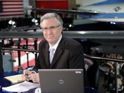 Keith Olbermann of MSNBC poses May 3, 2007, at the Ronald Reagan Library in Simi Valley, Calif. MSNBC has suspended Olbermann indefinitely without pay for contributing to the campaigns of three Democratic candidates this election season.