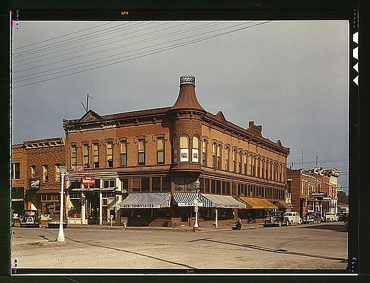 Dillion, Mt, 1942. From the Library of Congress archives.