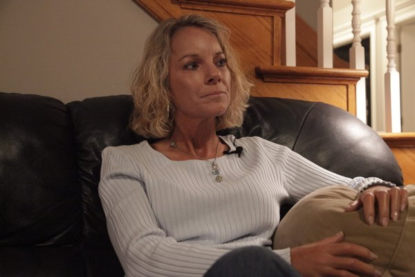 Longtime Lawrence resident Kim Banning-Bohmann talks about her diagnosis of scleroderma, a life-threatening illness, during an interview in November 2010. The disease not only hardens skin, but it can also affect internal organs.
