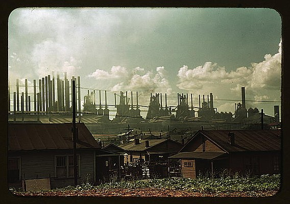 Factories and Houses, 1942