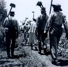 Mississippi Cotton field workers, 1937.