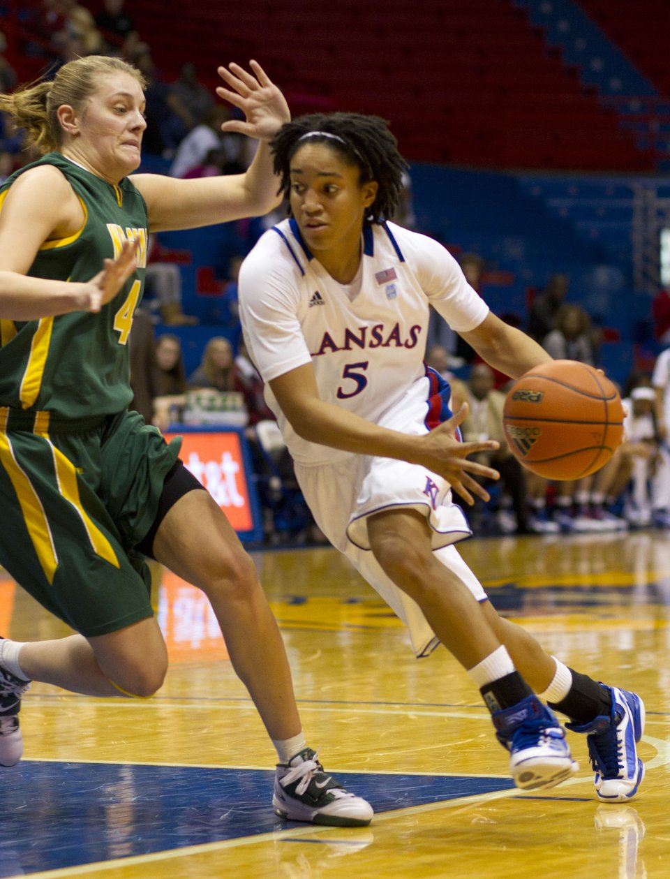 KU women's basketball vs. North Dakota State | KUsports.com