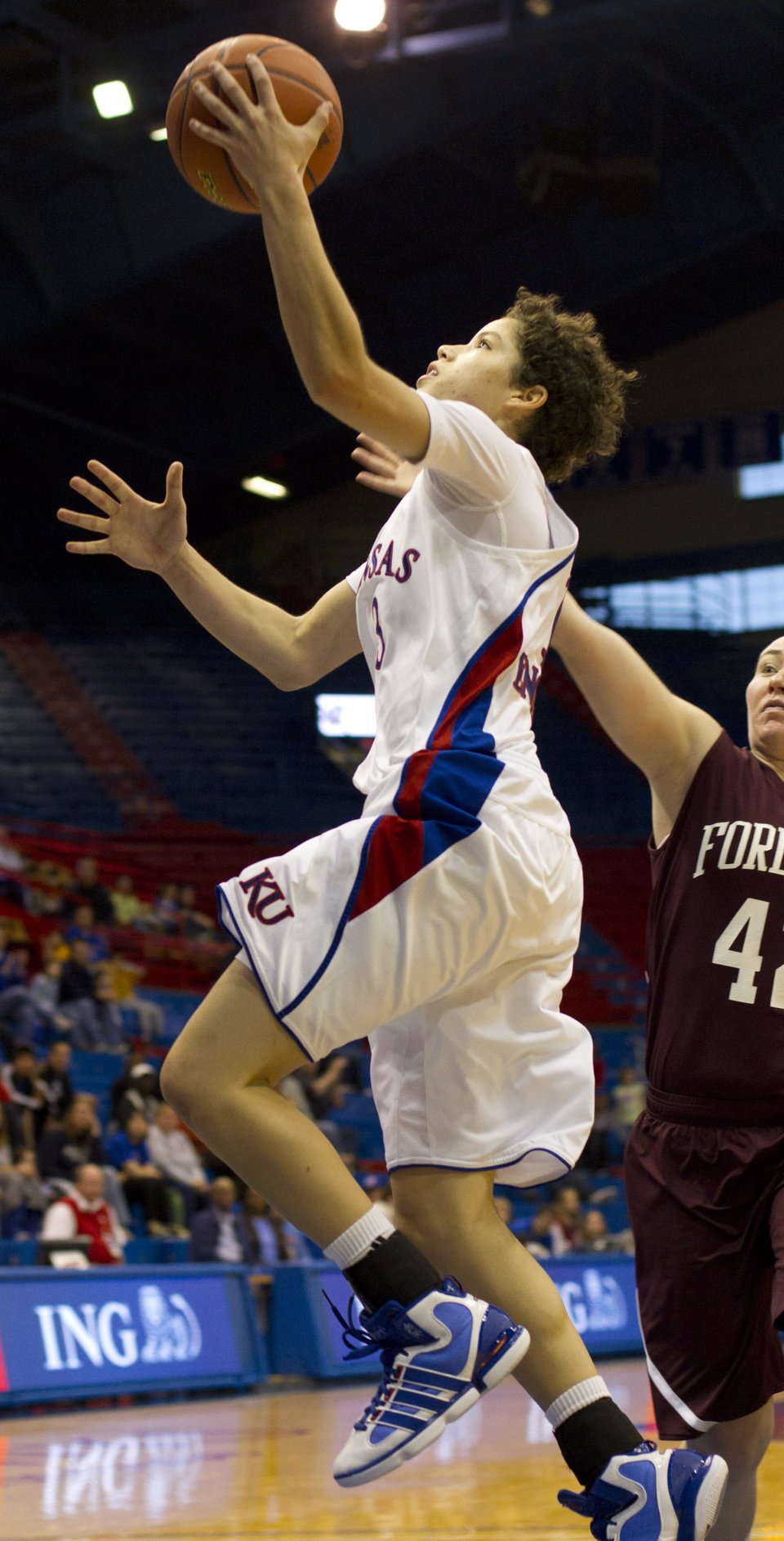 KU women's basketball vs. Fordham | KUsports.com