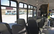 Six new, smaller buses will be added to the city T system after driver route training. The buses include sixteen seats plus access and room for wheelchairs.