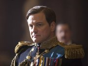 "Colin Firth portrays King George VI in a scene from ""The King's Speech."""