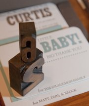 Frustrated by a dry job market, recent KSU graduate Emmy Rice has taken matters into her own hands, starting Typo, a card and announcement business. Rice likes to use old wooden block stamps in her design.