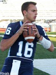 Quarterback Brock Berglund.