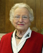 Mildred McMillon, 83, plans to retired from the Tonganoxie school board after 27 years of service.