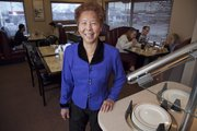 Lucy White, owner and proprietor of Panda & Plum Garden, 1500 W. Sixth St.