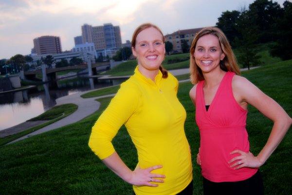 Jennipher Walters and Erin Whitehead,  formerly of Lawrence, are the girls behind Fitbottomedgirls.com, a former blog and now full-service website for women of all fitness levels and goals.