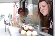 Brian Jurgens, of Shawnee-based E.F. Hobbs Specialty Coffee, and Shawnee resident Renee Kloeblen, of Ms. Nene's Takes the Cake Bakery, teamed up to create CoffeeCakeKC, a mobile truck that sells Kloeblen's boutique cupcakes and Jurgens' coffee concoctions.