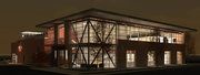 A rendering of the design of the proposed Treanor Architects headquarters building at 1040 Vt.