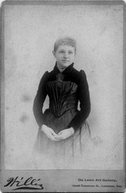 Born in 1861 in New Paris, Ohio, Elizabeth Miller found a job as an office clerk at the J.B. Watkins Land and Mortgage Co. at the age of 15.