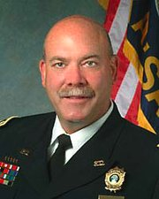 Mark Kessler, a deputy chief in Overland Park