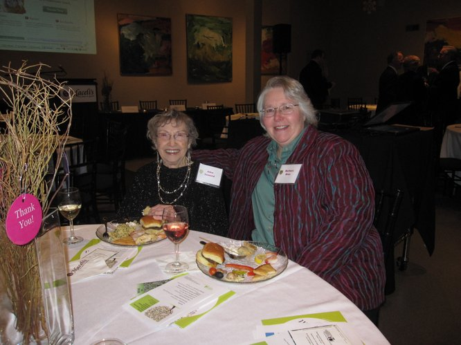 Alice Leonard, Lawrence, and Barbara Braa, rural Lawrence, attended LMHEA's annual meeting.