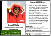 Prasad Gogineni, the Deane E. Ackers distinguished professor of electrical engineering and computer science at Kansas University, is among prominent scientists, engineers and inventors featured on trading cards created by the Ad Astra Initiative.