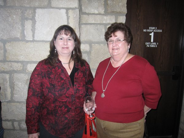 Larissa Barbee, Lawrence, and her mother Georgine Platko, of Plainville, Ill., attended the seventh annual Go Red For Women luncheon.
