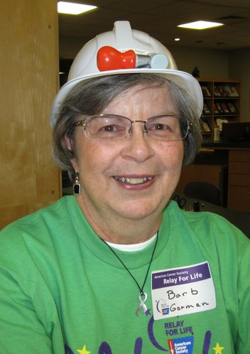 "Barbara Gorman, a breast cancer survivor, became co-chairman of Relay For Life of Douglas County in 2011 and the theme was ""Hats Off To A Cure."" She is co-chair again this year."