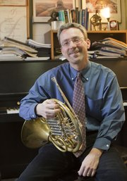 Paul Stevens, associate professor of horn at KU, has worked on Hollywood blockbusters, TV shows and played in some of the world's finest concert halls.