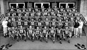 Stephen Paea, pictured in the top row wearing No. 75, appeared in the Lawrence High 2004 team football photo. His fraternal twin brother, Will, is pictured in the second row, wearing No. 33.