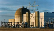 The Wolf Creek nuclear power plant, which went online in 1985, is shown in this Jan. 11, 2000, photograph.