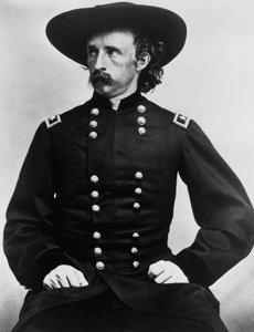 Gen. George A. Custer shown March 2, 1892.