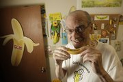 After almost 50 years of collecting banana paraphernalia, retired Kansas University history professor Charles Stansifer has an entire room in his basement dedicated to his favorite fruit.