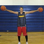 Braeden ANderson, a 6-foot-8, 215-pound power forward, committed to Kansas University on Sunday, April 10, 2011.