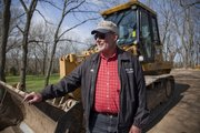 Allen Grob has been a heavy equipment excavator for 38 years, helping lay the groundwork for countless homes and businesses in the area.