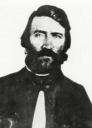 Sam Jones, the Douglas County sheriff who sacked Lawrence in 1856.