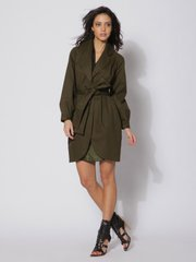 This product image courtesy of Gilt Groupe shows the Thread Social cotton canvas tie waist trench coat.